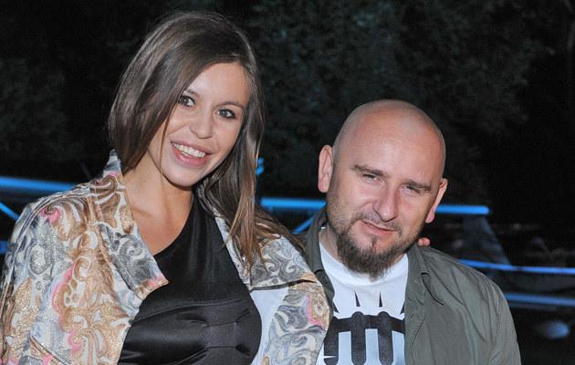 Liroy z partnerką Joanną Krochmalską, fot.Andras Szilagyi  /MWMedia