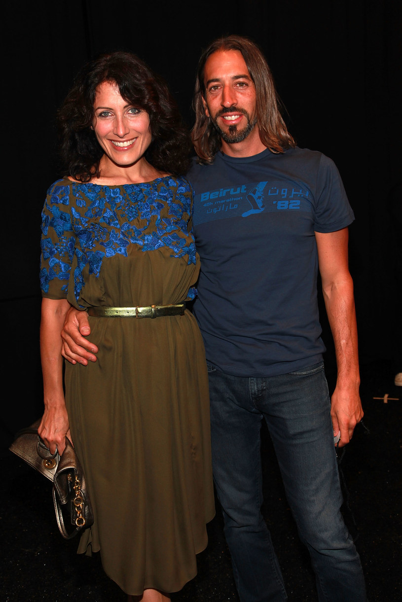 Lisa Edelstein i Robert Russell /Astrid Stawiarz /Getty Images