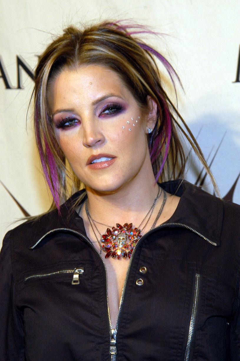 Lisa Marie Presley, 2003 rok /KMazur /Getty Images