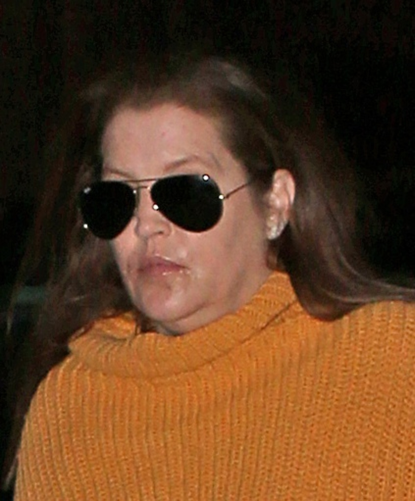 Lisa Marie Presley hat gesundheitliche Probleme? / East News