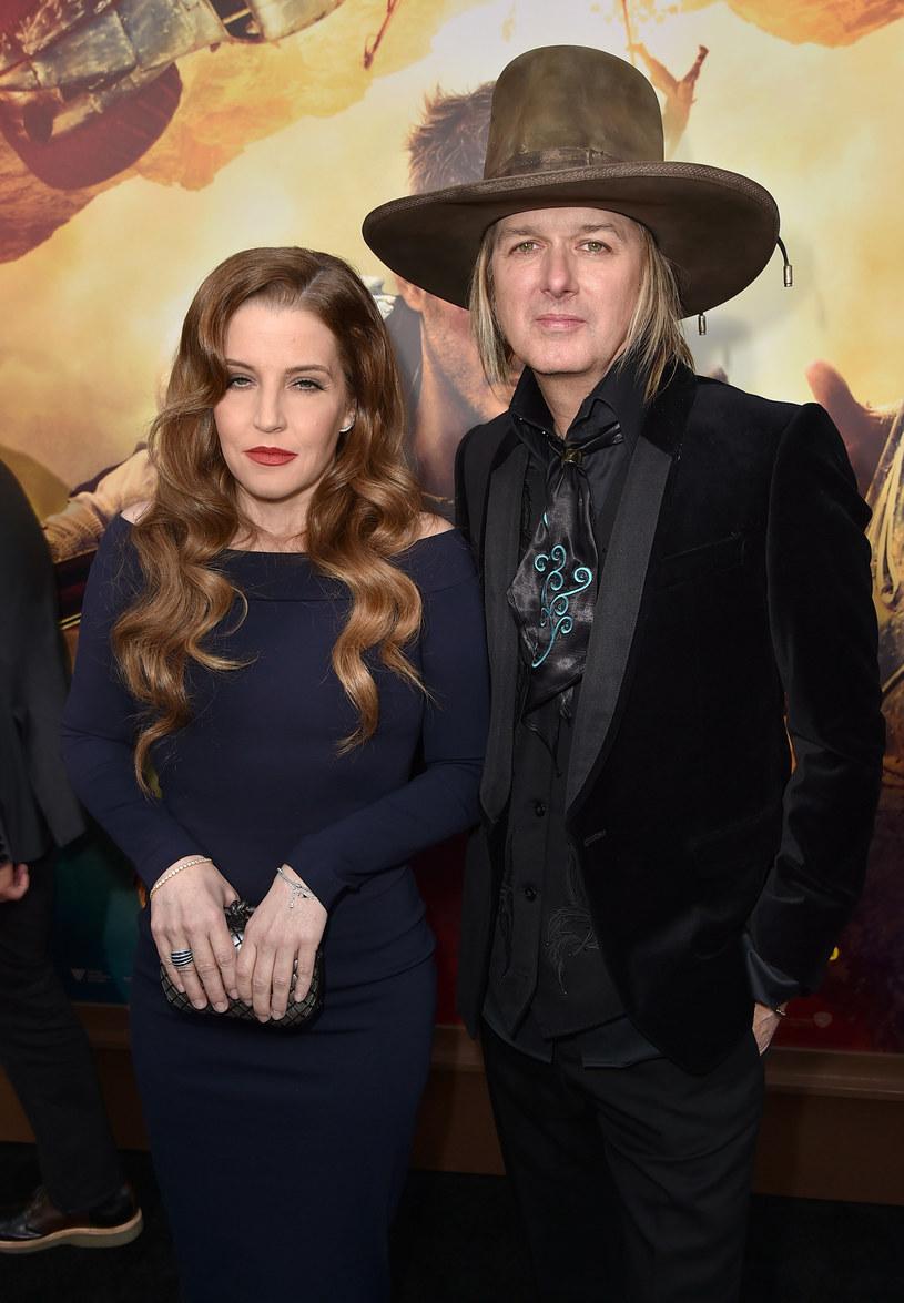 Lisa Marie Presley rozstała się niedawno z mężem /Kevin Winter /Getty Images