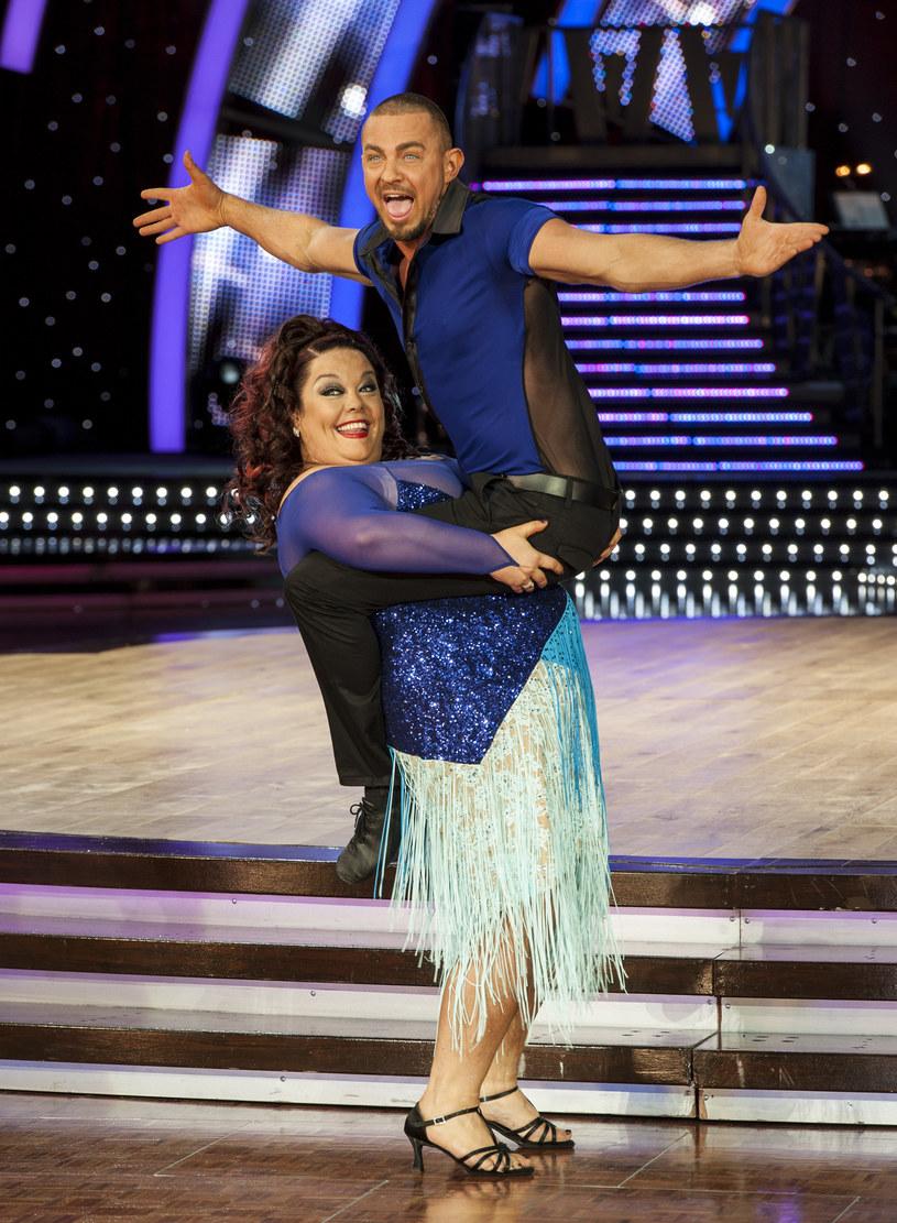 """Lisa Riley w brytyjskim """"Tańcu z gwiazdami"""", 2013 rok /Steve Thorne /Getty Images"""