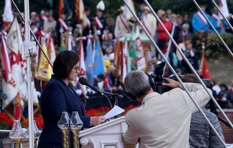 List Andrzeja Dudy odczytała szefowa Kancelarii Prezydenta Małgorzata Sadurska /Waldemar Deska /PAP