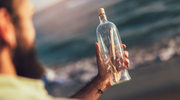 List w butelce uratował życie rodzinie z Kalifornii