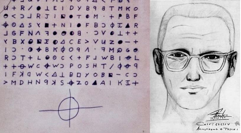 List wysłany przez zabójcę i portret pamięciowy policji z San Francisco. Fot. Wikipedia/San Francisco Police Department /Wikipedia