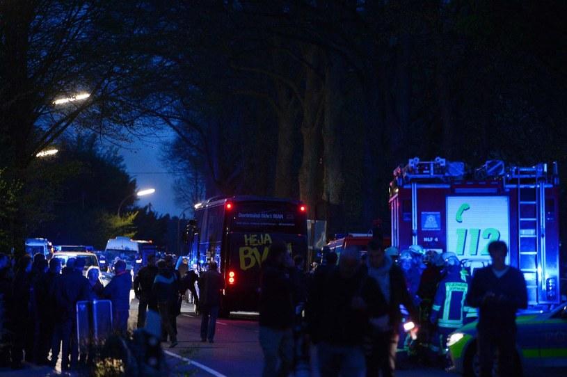 List znaleziony po wybuchu w pobliżu miejsca ataku był próbą skierowania zainteresowania organów ścigania na fałszywy trop. /Sascha Schuermann  /AFP