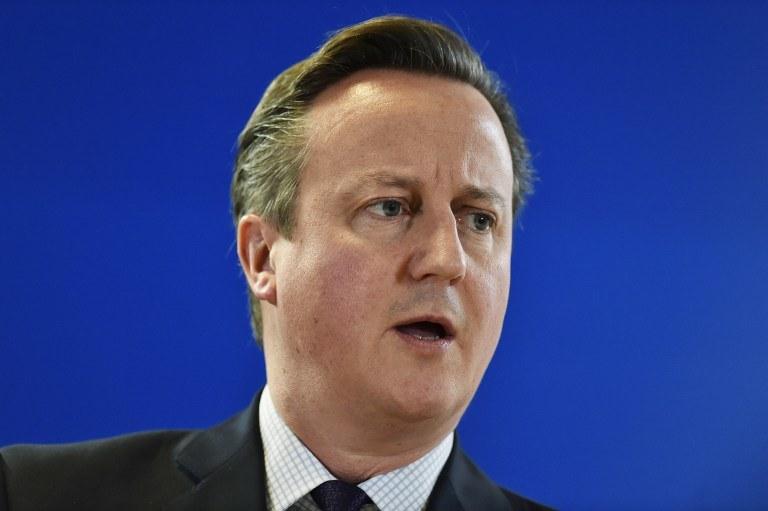 List został skierowany do Davida Camerona /AFP