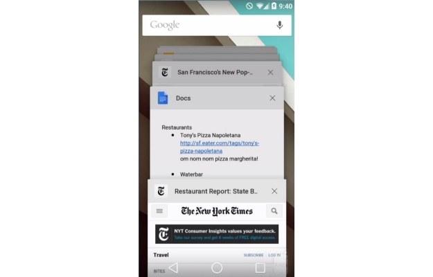 Lista aplikacji działających w tle /materiały prasowe