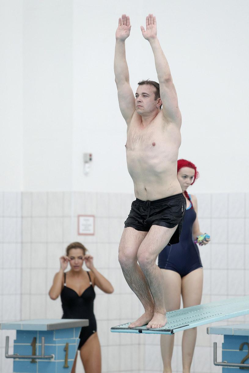 """Liszewski wziął udział w programie """"Celebrity Splash!"""" /Podlewski /AKPA"""