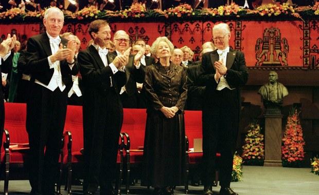 Literacki Nobel 1996: Wisława Szymborska w Sztokholmie