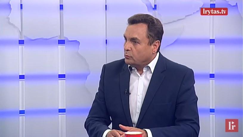 Litewski polityk Petras Gražulis słynnie ze swoich homofobicznych wypowiedzi / Lrytas.lt /YouTube
