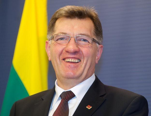 Litewski premier Algirdas Butkevicius /AFP