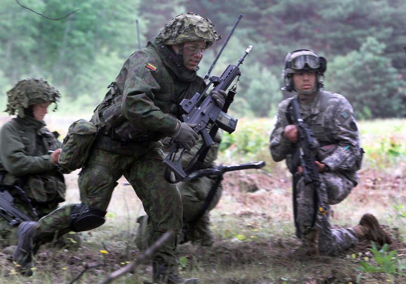 Litewsko-amerykańskie ćwiczenia w ramach NATO /AFP