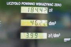 Litr benzyny za 2,5 zł?!