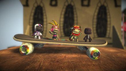 LittleBigPlanet rozkręca wyobraźnię /INTERIA.PL