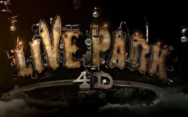 Live Park 4D: Art Factory - logo /Informacja prasowa