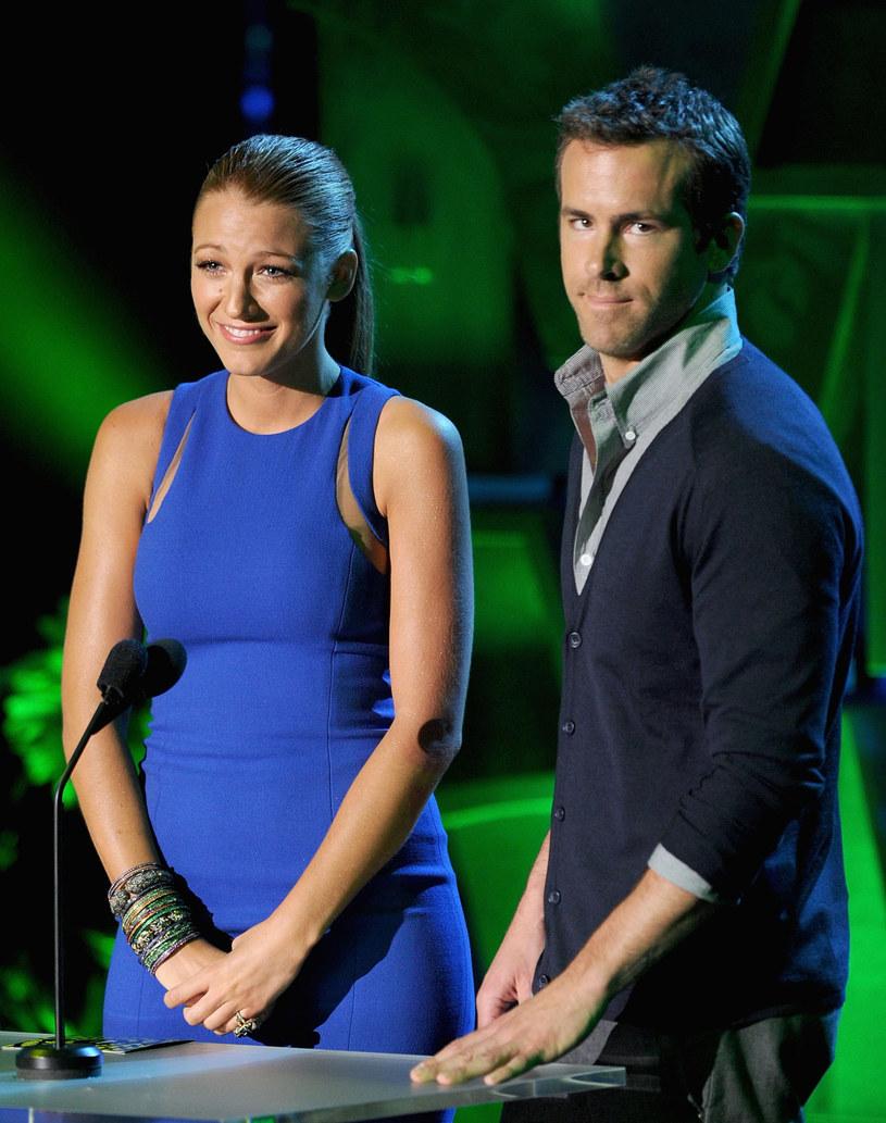 Lively i Reynolds mają córeczkę /Kevin Winter /Getty Images
