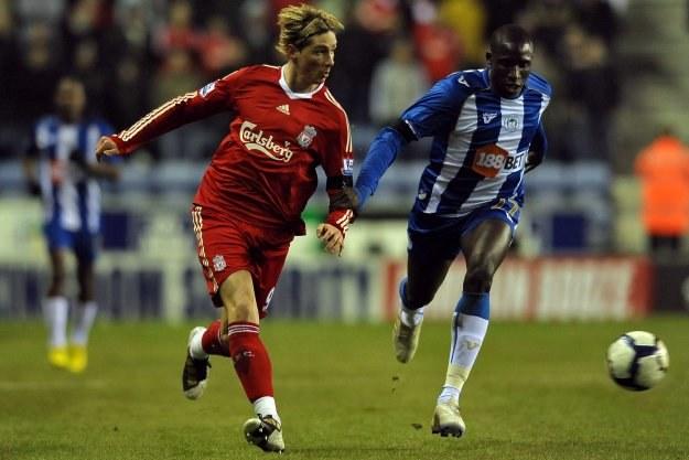 Liverpool przegrał z Wigan 0-1 /AFP