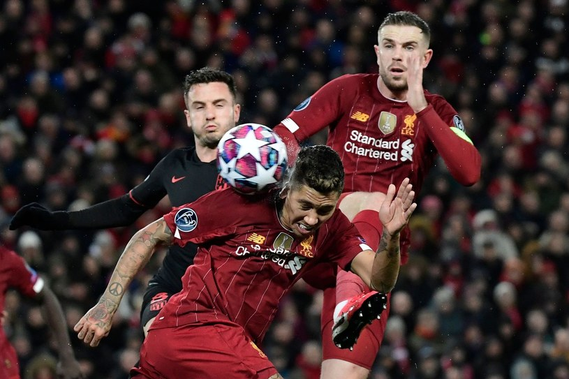 Liverpool w akcji /AFP