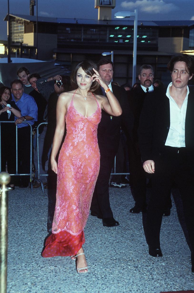 Liz Hurley i Hugh Grant /Patrick Riviere /Getty Images
