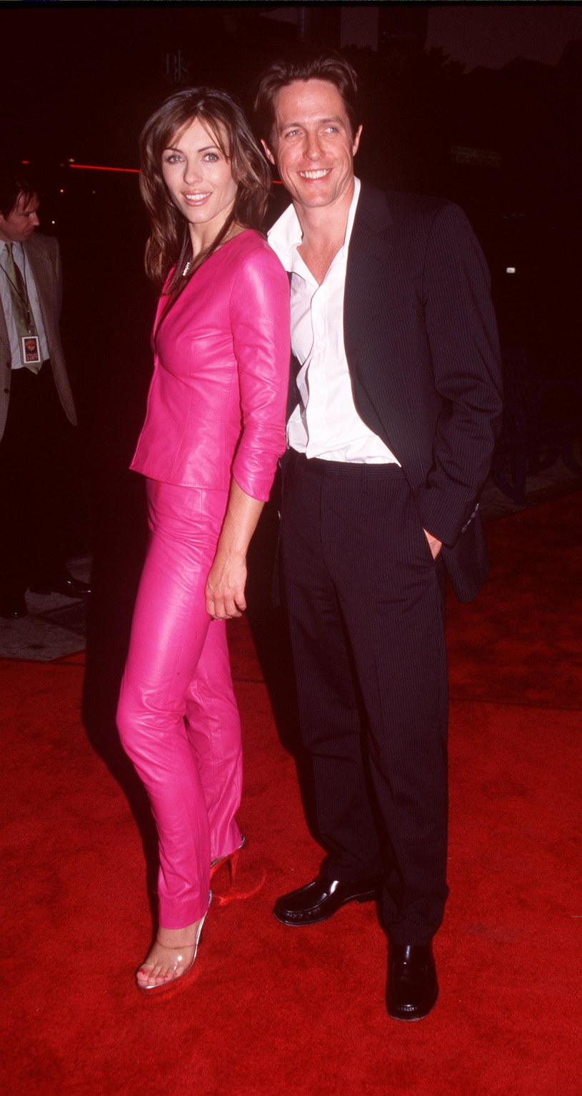 Liz Hurley i Hugh Grant /Brenda Hase /Getty Images