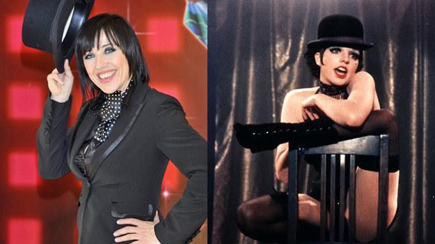 Liza Minelli (P) była moją idolką już w czasach liceum - mówi Hanna Śleszyńska (L) /AKPA