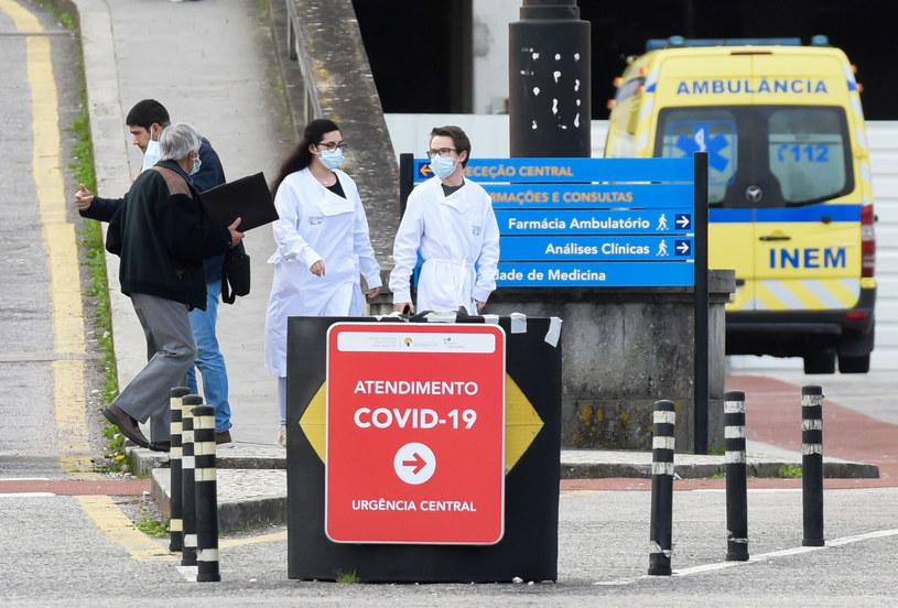 Lizbońska ulica w czasie pandemii /Gustavo Valiente / Parsons Media/Eyevine/East News /East News