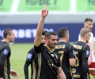 ŁKS - Górnik Zabrze 0-1 w meczu 27. kolejki Ekstraklasy