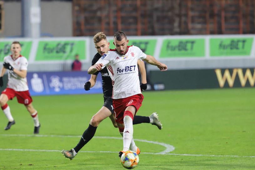 ŁKS wygrał u siebie z Cracovią 1-0 /East News