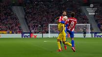 LM: Atletico Madryt - Liverpool FC. Griezmann dostaje czerwoną kartkę. WIDEO (Polsat Sport)