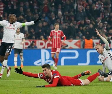 LM: Bayern Monachium - Besiktas JK 5-0 w meczu 1/8 finału