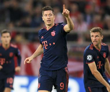 LM. Olympiakos Pireus - Bayern Monachium 2-3. Dwa gole Lewandowskiego