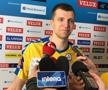 LM piłkarzy ręcznych. Władysław Kulesz (Vive) po meczu z HBC Nantes. Wideo