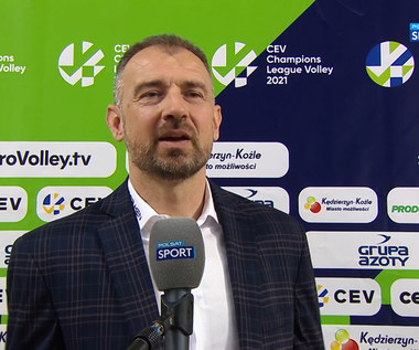 LM siatkarzy. Nikola Grbić: Siatkarze Cucine Lube nie są przyzwyczajni, że ktoś ich ciągle podbija (POLSAT SPORT). WIDEO