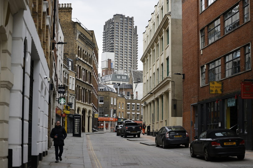 Lockdown w Londynie /Tolga Akmen /AFP