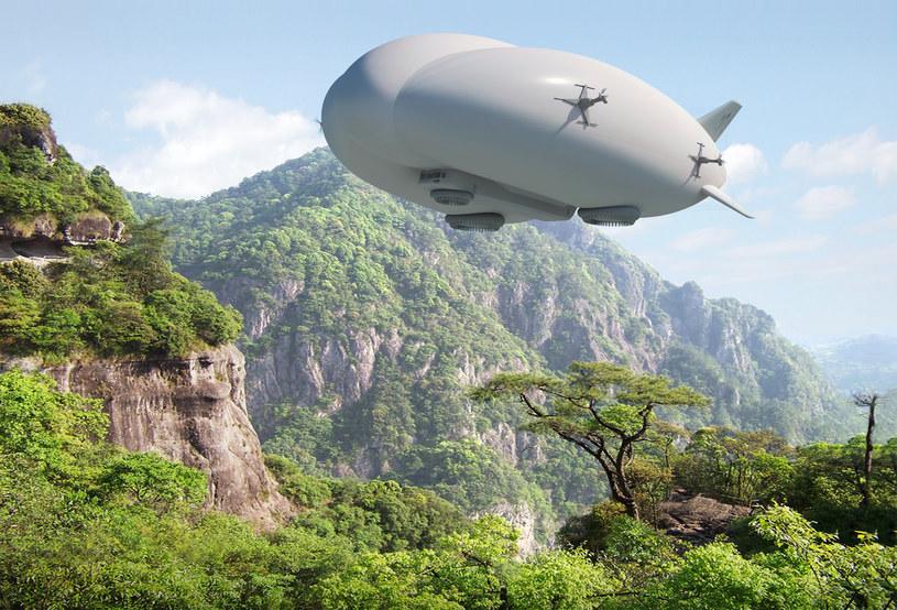 Lockheed Martin Hybrid Airship /materiały prasowe