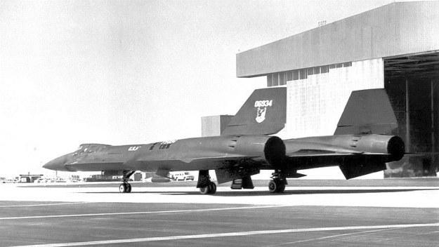 Lockheed YF-12A w Strefie 51.   Fot. United States Air Force /materiały prasowe