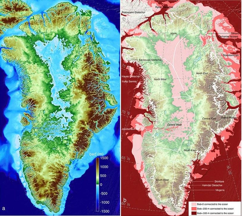 Lód Grenlandii topnieje bezprecedensowo szybko /NASA