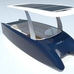 Łódka napędzana energią słoneczną