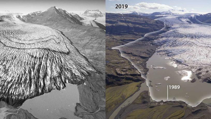 Lodowce Islandii są w coraz gorszym stanie /Fot. Kieran Baxter /materiały prasowe