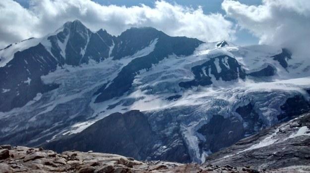 Lodowce u podnóża Grossglocknera, najwyższego szczytu Austrii /Grzegorz Jasiński /RMF FM