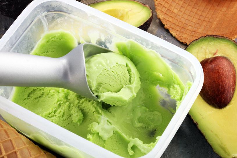 Lody z awokado to smaczna i bogata w zdrowe tłuszcze przekąska /123RF/PICSEL