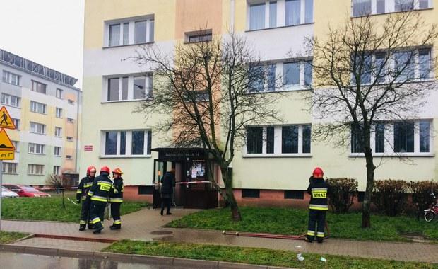Łódź: 4 osoby poszkodowane w pożarze budynku przy ul. Motylowej