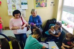 Łódź: Audiobooki rozdane! W jednym ze szpitali przekazał je Michał Winiarski