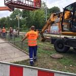 Łódź: Awaria wodociągowa unieruchomiła tramwaje