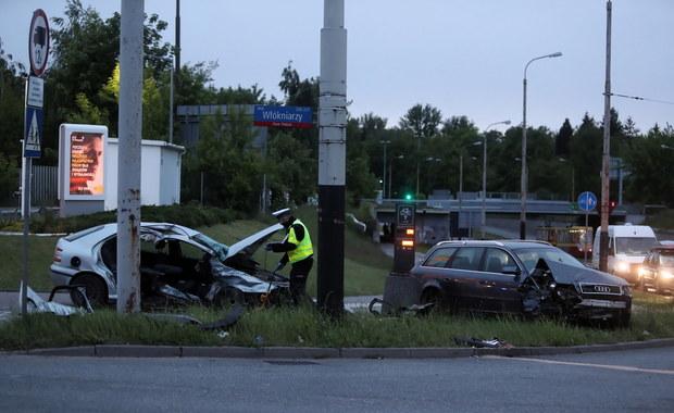 Łódź: Pijany kierowca staranował inne auto. 4 osoby ranne, w tym 3 dzieci