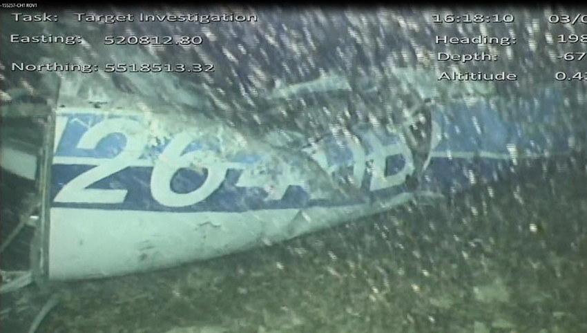 Łódź podwodna wykonała zdjęcia wraku /Handout /PAP/EPA