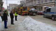 Łódź: Zaparkował na torach tramwajowych