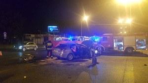 Łódź: Zderzenie motocykla z autem. Zginęły dwie osoby
