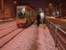 Łódź: Zima utrudnia życie mieszkańcom